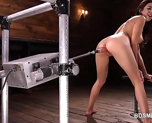 Melissa moore drilled by a sex machine