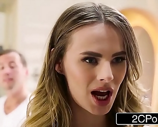 Jillian janson's constricted a-hole drilled by her massage therapist