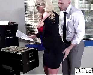Office horny white wife (julie cash) with bigtits acquire hard style sex mov-20
