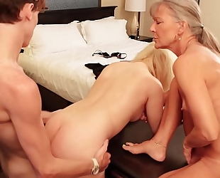 Taboo aiden valetine copulates step sister fifi foxx with step mamma