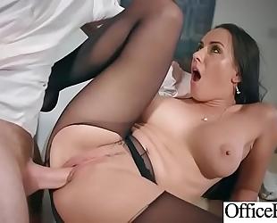 (mea melone) breasty office floozy white wife in hardcore sex scene clip-19