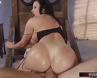 Brazilian milf sybil stallone anally rides the hard penis - mshush.com