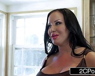 Wimpy spouse discovers his BBC slut is an elite prostitute sybil stallone