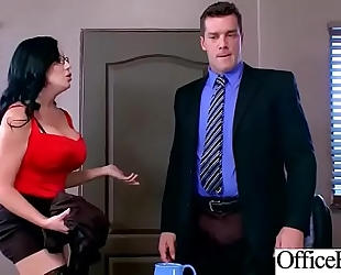 Slut slutty wife (sybil stallone) with round biggest titties acquire nailed in office vid-28