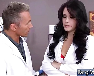 Amazing sex betwixt doctor and wicked lustful patient (noelle easton) clip-24