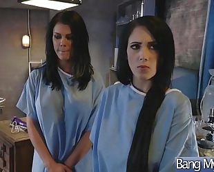 Hot perverted patient (noelle easton & peta jensen) enticed by doctor have a fun sex treatment clip-23