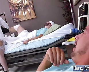 (noelle easton) sexy wicked patient group-sex with perv doctor movie-27