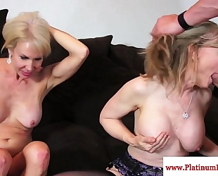 Erica lauren and nina hartley share ramrod
