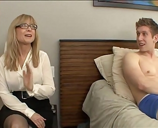 Nephew fuck his aunt - nina hartley - greater quantity on footjobs-tube.com