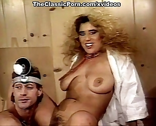 Nina hartley, nina deponca, jerry butler in classic sex movie scene
