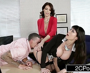 Fantasy teacher vs stepmom trio for a fortunate stud - charlee follow, eva karrera