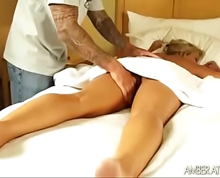 Amber lynn bach massage three