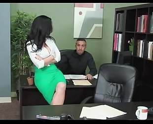Busty secretary jayden jaymes astonishing fuck
