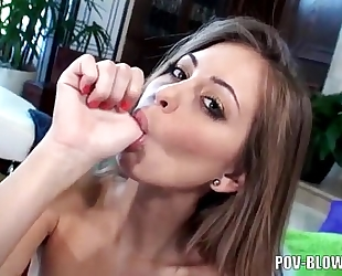 Riley reid - perverted fellatio & footjob