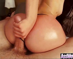 Big oiled ass BBC slut (mandy muse) acquire hard nailed in her behind clip-23