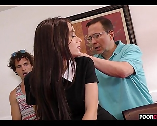 Cuck witness his white bitch lana rhoades banging a bbc