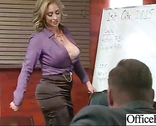 Sex hot action in office with naughty sexually excited floozy dilettante horny white wife (eva notty) video-20