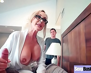Big round love muffins dark shlong bitches (brandi love) banged hard style in sex tape vid-07
