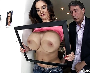 Ava addams has biggest all natural milf milk cans