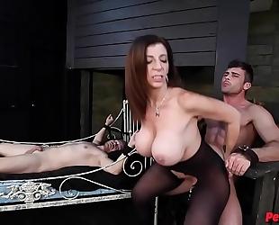 Sara jay has sex slaves lance hart alex adams