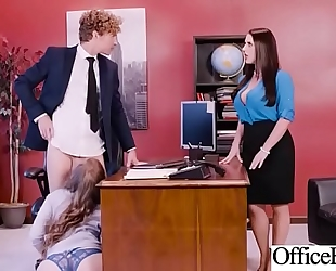 Hot sex in office with large round bumpers cheating wife (angela white & lena paul) video-03