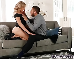 Glam sweetheart drilled n jizzed