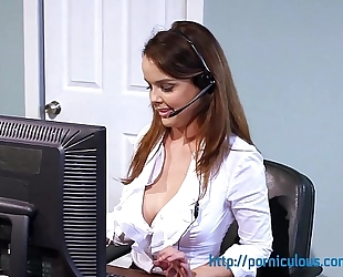 Big love melons at work - compilation - amia miley, dillion harper, and greater amount...