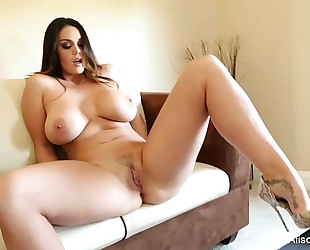 Alison tyler plays with her love tunnel
