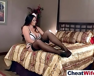 Hot hot amateur wife (alison tyler) like cheating sex on tape vid-06