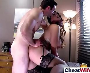 (alison tyler) hawt cheating hot BBC slut love hard team fuck on web camera clip-03