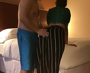Dirty white bitch cheats in spouse in hotel