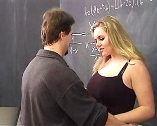 Hot blond screwed by her teacher