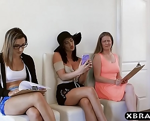 The massive doxy in hollywood auditions creampie jizzed