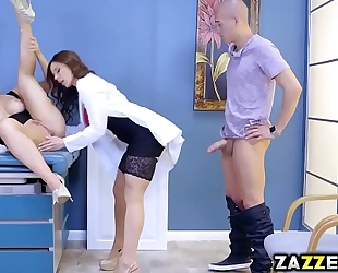 Xander corvus fuck the doctor from behind from behind