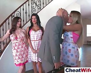 Superb hotwife (kendra kissa peta) cheats on camera in hard style act movie-17