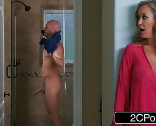Hot single milf brandi love daydreaming about juvenile large 10-Pounder